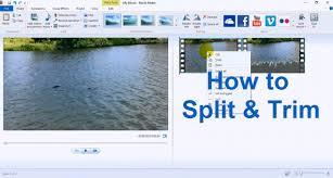Windows Movie Maker Tutorial For Beginners Movie Maker Windows 10 Split Trim Edit Tips 2016