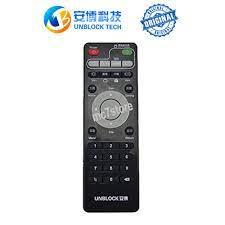 Original Unblock Tech Remote Control For Ubox 2, 3, 4, 5, 6 and 7 TV Box