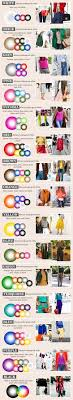 Color Chart For Clothes The Ultimate Science To Wearing Colour Fashion Fashion
