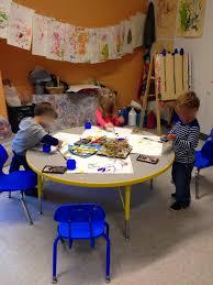 preschool art table. Pondering Preschool. \ Preschool Art Table L