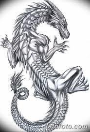 тату дракон эскизы для девушек 08032019 036 Tattoo Sketches