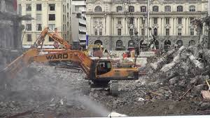 Light Demolition Work Surge In Building Work Shines Light On Demolition Crews