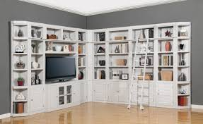 parker house boca library bookcase wall unit set  e phbocwall