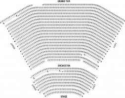 Seating Charts Centre Colleges Norton Center For The Arts