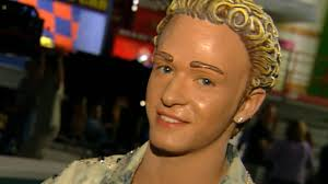 flashback n sync members transform into dolls for it s gonna be me enternment tonight makeup image
