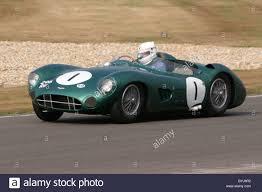 Historic 1957 Aston Martin DBR1 Sports racing car photographed at ...