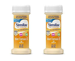 Similac 66180 Ready To Feed 2 Oz Bottles Pro Sensitive