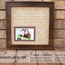 wedding frame gift to parents bride groom from framedaeon on etsy Wedding Gifts For Parents Frames parent wedding gift wedding gift for parents bride parent gift groom parent gift wedding gift for parents picture frame