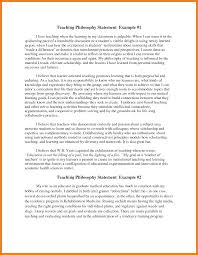 example of a philosophy statement case statement  6 example of a philosophy statement