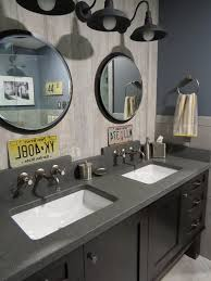 portland maine wall mount faucet bathroom industrial with diorite contemporary shower doors zero entry