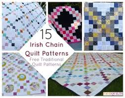 900+ Free Quilting Patterns   FaveQuilts.com & 15 Irish Chain Quilt Patterns: Free Traditional Quilt Patterns Adamdwight.com