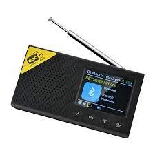 Radyo 2021 yeni taşınabilir Bluetooth dijital radyo müzik çalar DAB/DAB +  ve FM alıcı şarj edilebilir hafif ev Mini radyo|Radio
