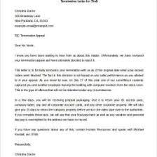 Firing Letter Sample Employee Termination Letter 402547600037 Employment