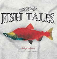 Details About Sockeye Salmon Funny Outdoor Fishing Nature Angler Gift Classic T Shirt Tee