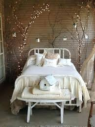 living room string lights decorating with