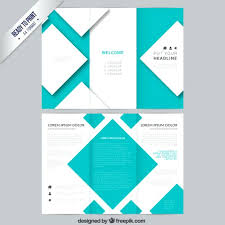 Souvenir Booklet Template Download Brochure Template With Squares Vector Free Download Sponsor Booklet