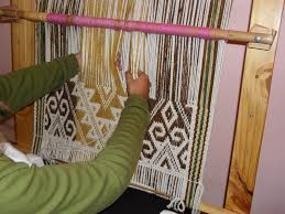 Resultat d'imatges de TELAR  el tapiz