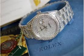 rolex presidential £76 595 mens solid 18k white gold rolex day previous