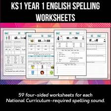 Say a sound and children identify the correct letter(s) by circling/colouring. Key Stage 1 Year 1 English Spelling And Phonics Worksheets Pack Of 59