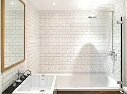 subway tile shower beveled ideas