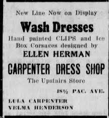 Ellen Hill advertisement - Newspapers.com