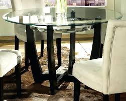 glass table sets inch round kitchen table sets elegant amazing inch round glass top dining table