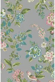 Botanical Print Behang Grijs Pip Studio The Official Website