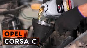 Hoe Een Oliefilter Motor Vervangen Op Een Opel Corsa C Handleiding
