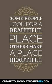 Create Beautiful Quotes Best Of A Beautiful Place Poster Maker Quote Posters Custom Posters