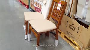 costco folding table and chairs new stakmore solid wood folding chair with padded seat of costco
