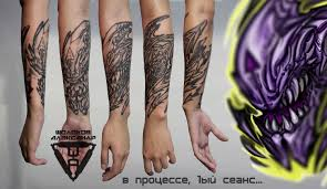 Unique Biomechanical Tattoos By Alex Sholokhov Russia