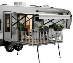 outside kitchen roamer fifth wheel 4 keystone outback toy hauler travel trailer
