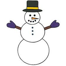 Template Of A Snowman Snowman Paper Craft Color Template