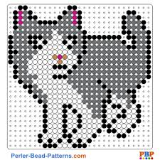 Perler Bead Cat Patterns