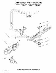 kitchenaid kuds30fxss8 parts list and diagram ereplacementparts com