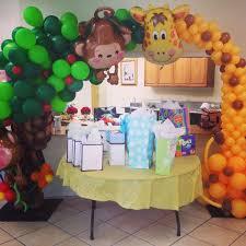 Baby Shower balloon decoration. Baby Shower BalloonsJungle BalloonsBalloon  ArchBalloon DecorationsBaby ...