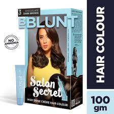 Buy Bblunt Salon Secret High Shine Creme Hair Colour Chocolate Dark