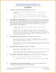 Executive Summary Apa Format 6th Edition Example Monzaberglauf