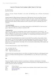 Sample Resume For Fresh Graduate Mechanical Engineer