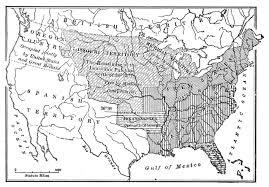 the missouri compromise missouri compromise map