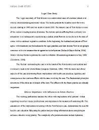 Legal Case Study