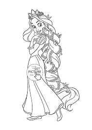 Coloring Pages Tangled Uticureinfo