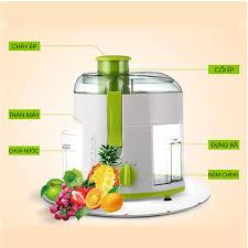 Máy ép hoa quả Anmir ARM-600B công suất 500W máy ép trái cây gồm 2 tốc độ  tự ngắt khi quá tải, sản lượng ép 800ml đến 1000ml ống dẫn nguyên liệu