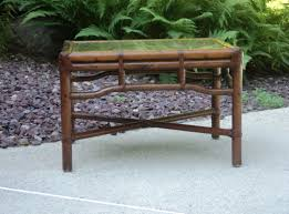 bamboo rattan chairs. Rattan Bamboo Structure. Dark Leather Joinery/Details. Original Glass Top Insert. Chairs M
