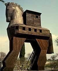 Billedresultat for den trojanske hest
