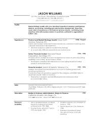 How To Write A Profile Profile Summary Cv Examples Resume How To Write A That Sample
