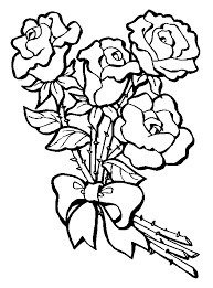 Small Picture Rose Coloring Pages Coloring page