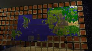 minecraft  how do i create a wall of maps with item frames  arqade
