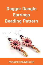 Beaded Earring Patterns For Beginners Interesting Decorating Design