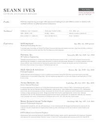Software Engineer Resume Formate Und Unique Experience Certificate